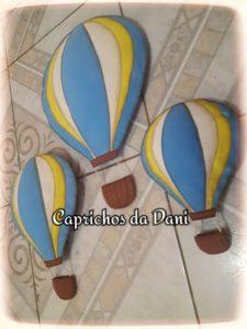 Decoração De Festa Viagem De Balão Caprichos Da Dani